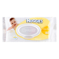 Huggies Wipes Scented Refill 80's