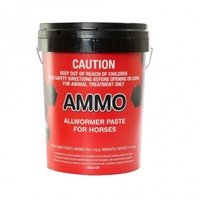 AMMO Allwormer Paste (Red) Stud Bucket 50 x 32.5g