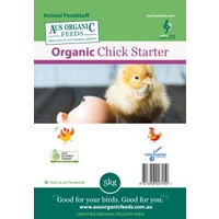 Aus Organic Feeds Chick Starter Crumble 5kg