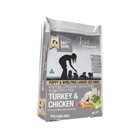 MEAL FOR MUTTS MfM PUPPY GRAIN FREE LARGER KIBBLE TURKEY & CHICKEN
