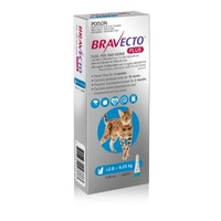 Bravecto Plus For Medium Cats 2.8 - 6.25kg