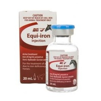 Equi-Iron Injection 20mL Nature Vet