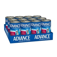 Advance Puppy Plus Growth Lamb 410g x 12(CANS)