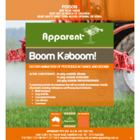 Apparent Boom Kaboom Active: 200 g/kg Sodium Tripolyphosphate Tank Cleaner