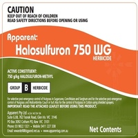 Apparent Halosulfuron 750 WG 750g/kg Halosulfuron-Methyl Post Emergant