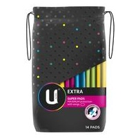 U BY KOTEX SUPER WING EXTRA PADS