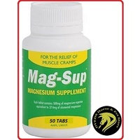 Mag-Sup 500mg 50 Tablets