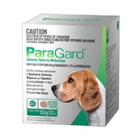 PARAGARD DOGS UPTO 10KG ALLWORMER