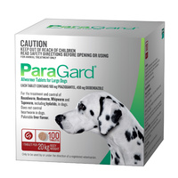PARAGARD DOGS UPTO 20KG ALLWORMER