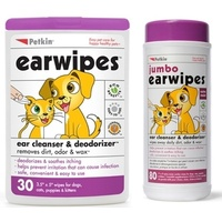Petkin ear wipes