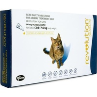 Revolution for Cats Blue 2.6-7.5kg