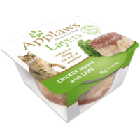Applaws Chicken with Lamb Layers 70g x 10 FELINE